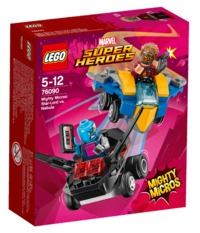 LEGO Super Heroes: Mighty Micros - Star-Lord vs. Nebula (76090)