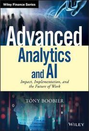 Advanced Analytics and AI by Tony Boobier