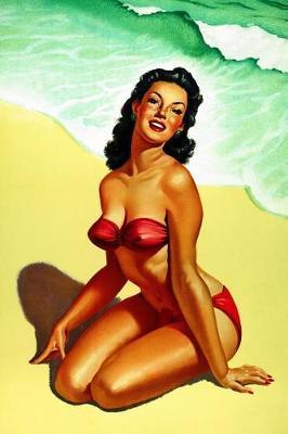 Pin-up Beauty on the Beach by Notebooks Journals Xlpress