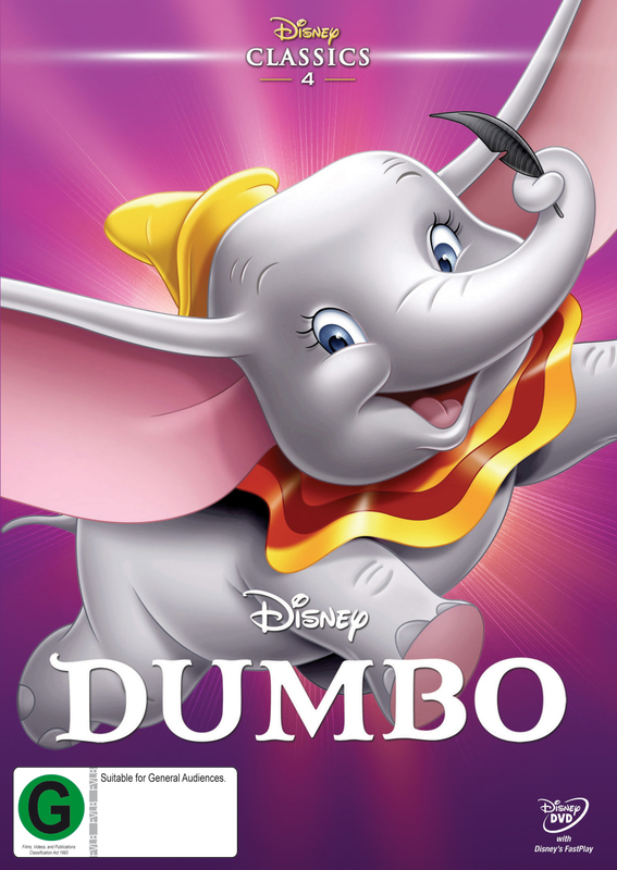 Dumbo on DVD