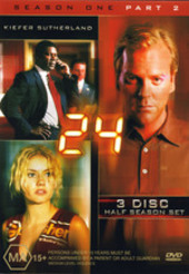 24 - Season 1: Part 2 (3 Disc Set) on DVD