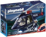 Playmobil - Police Helicopter with LED Spotlight (5183)