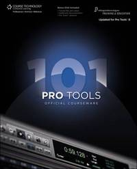 Pro Tools 101 Official Courseware, Version 8 by Digidesign image