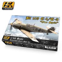 AK 1:48 BF 109 E1 / E3 Model Kit