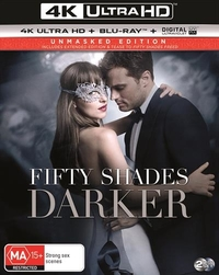 Fifty Shades Darker on Blu-ray, UHD Blu-ray, UV