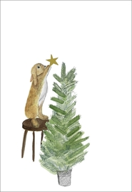 Dear Prudence Twinkle Christmas Card