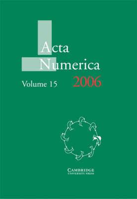 Acta Numerica 2006: Volume 15: 2006
