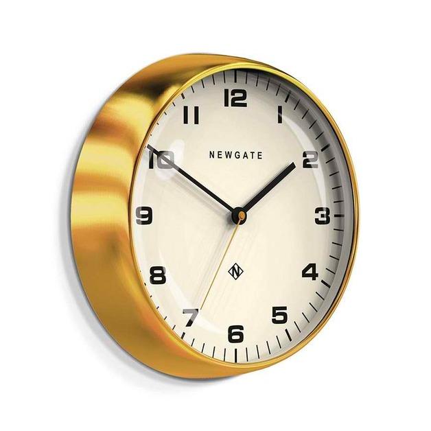 Newgate Clock - 40cm (Watford Radial Brass)