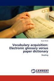 Vocabulary Acquisition by Gizel Hindi
