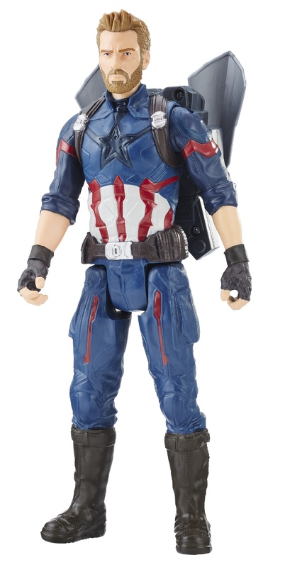 "Avengers Infinity War: Power FX Captain America - 12"" Titan Hero Figure"