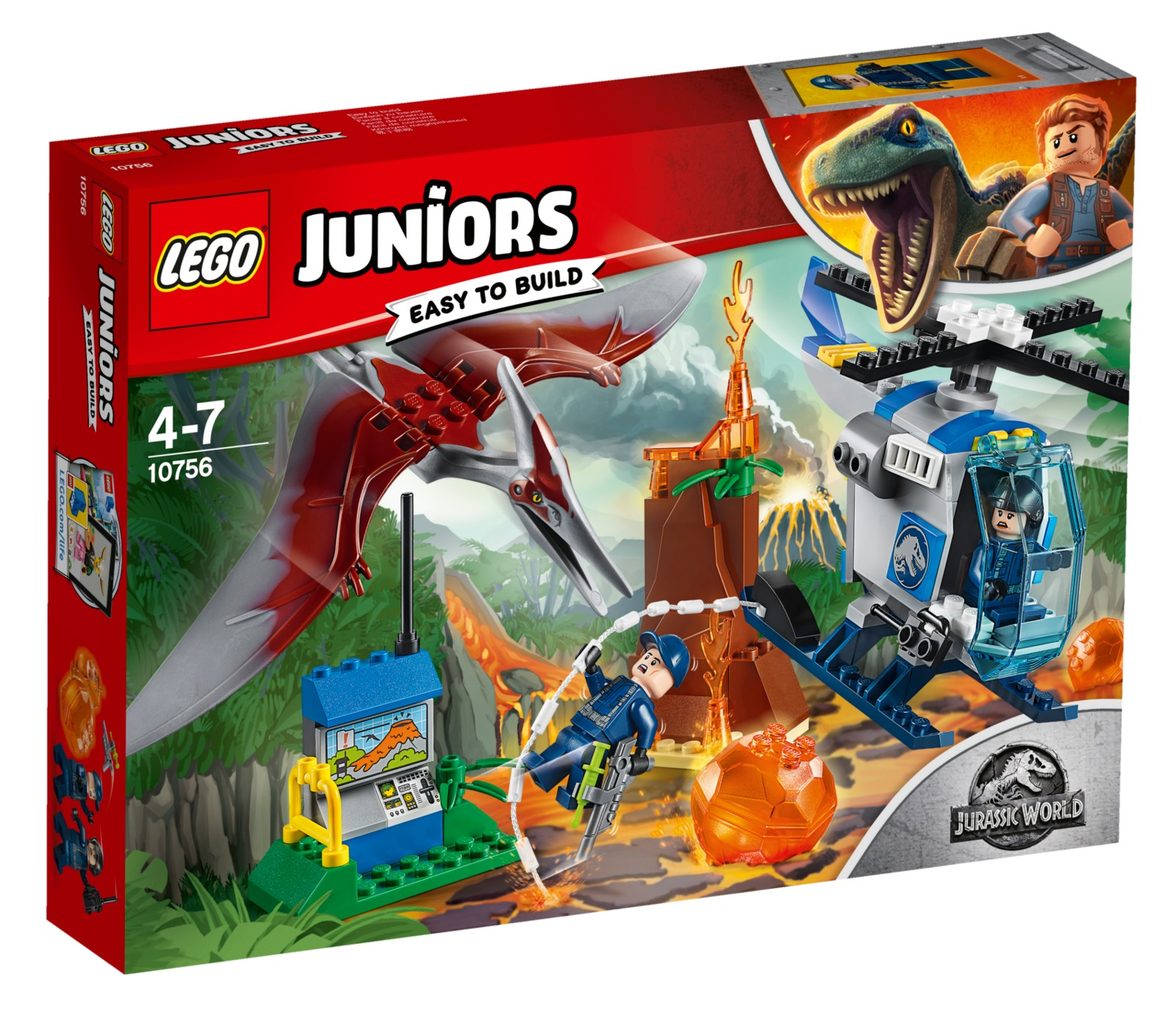 LEGO Juniors: Pteranodon Escape (10756) image