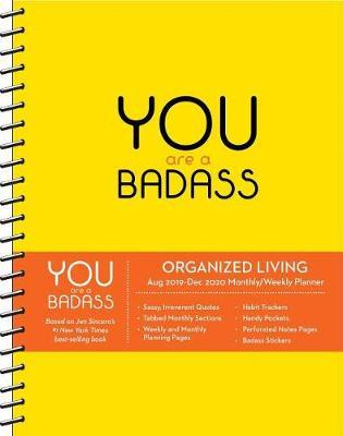 You Are a Badass 2019-2020 17-Month Monthly/Weekly Planning Diary