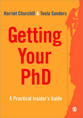 Getting Your PhD by Harriet Churchill image