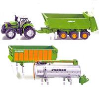 Siku: Deutz Fahr Tractor with Joskin Trailer Set 1:87