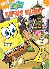 SpongeBob SquarePants - Karate Island on DVD