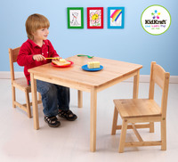KidKraft - Aspen Table and Chair Set Natural