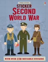 Sticker Dressing Second World War by Lisa Jane Gillespie