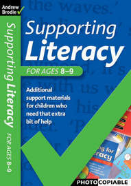 Supporting Literacy Ages 8-9 by Andrew Brodie image