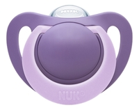 NUK: Genius Silicone Soother - 0-6 Months (2 Pack) image