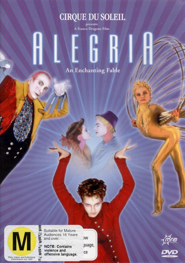 Cirque Du Soleil - Alegria on DVD image