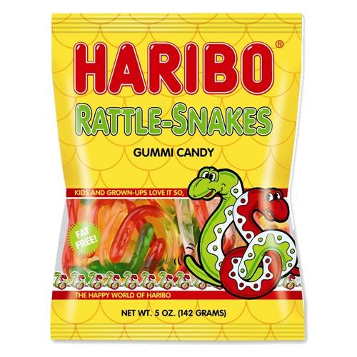 Haribo Rattlesnakes (142gms)