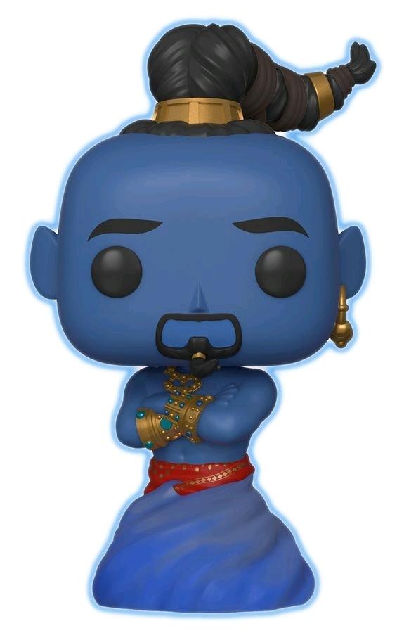 Aladdin (2019) - Genie (Glow Ver.) Pop! Vinyl Figure image