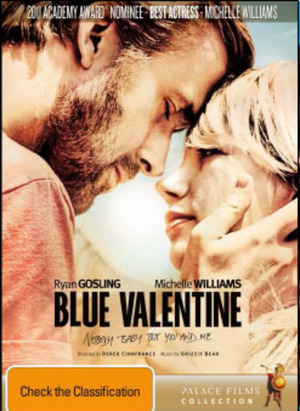 Blue Valentine on DVD image