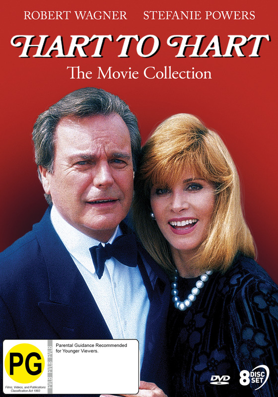 Hart To Hart: The TV Movie Collection on DVD
