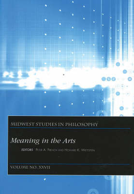 Meaning in the Arts: v. 27