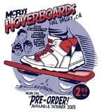 McFlys Hoverboards Art Print