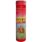 Faber Castell Classic: Coloured Pencils - Tin of 24