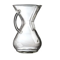 Chemex: 6-Cup Classic Glass Coffee Maker with Handle