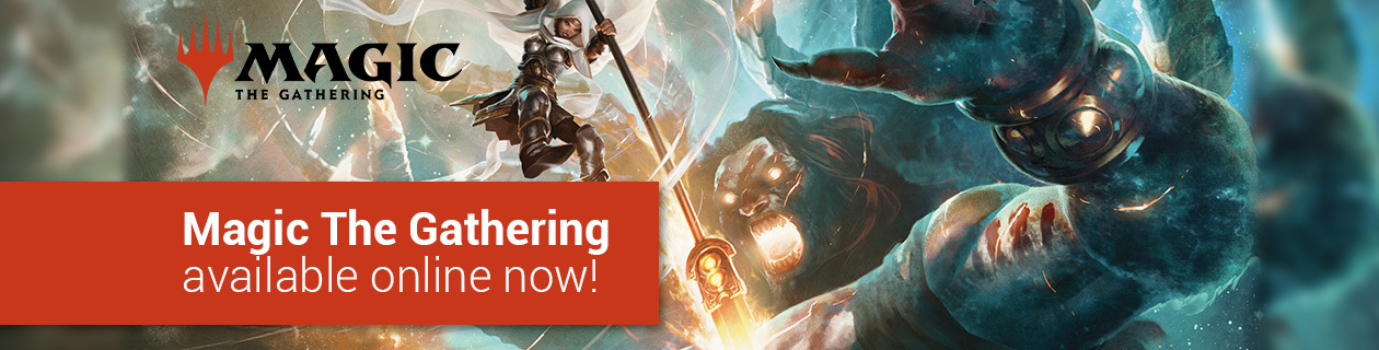 Magic The Gathering available now!
