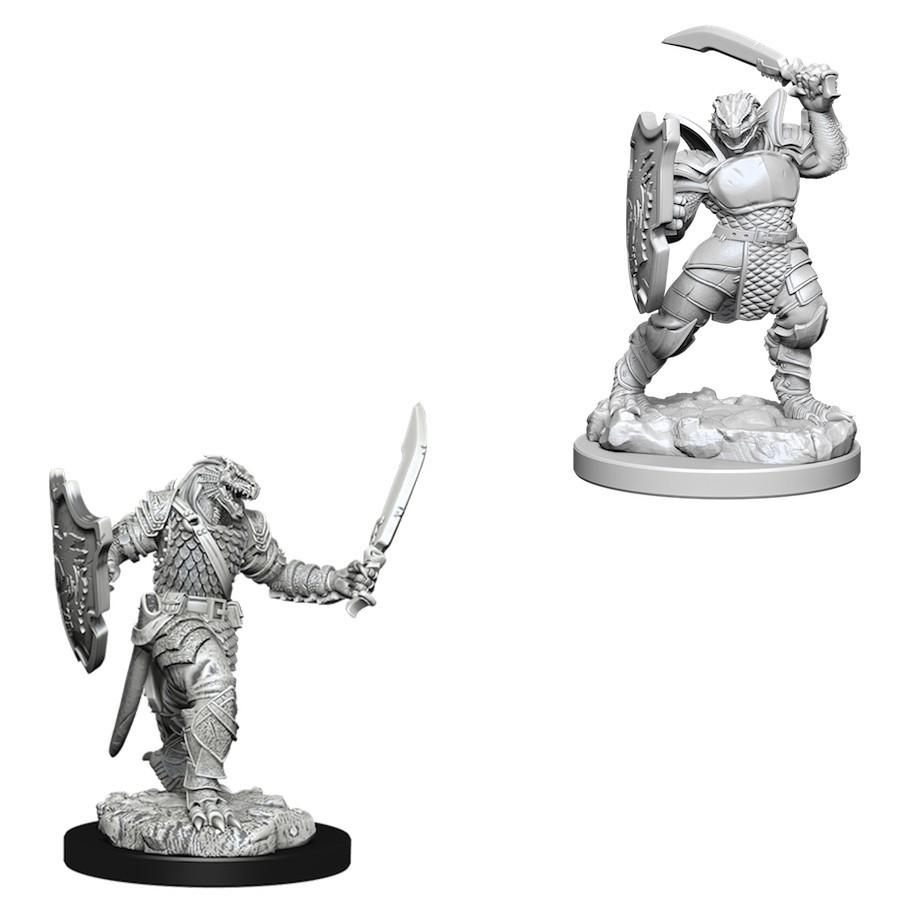 D&D Nolzur's Marvelous: Unpainted Miniatures - Dragonborn Female Paladin image