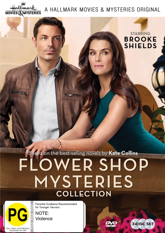 Flower Shop Mysteries - Collection 1 on DVD
