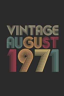Vintage August 1971 by Vintage Publishing