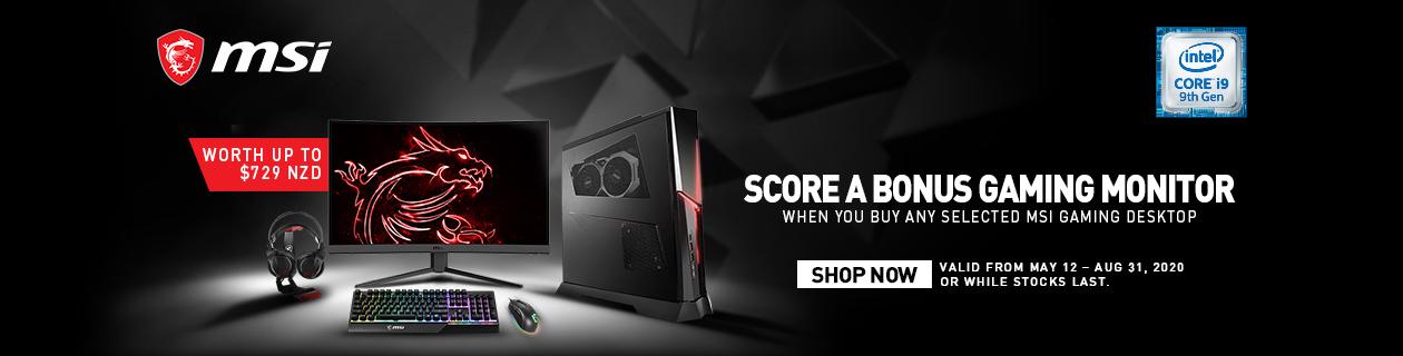 MSI Free Monitor Promo