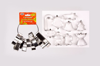 Christmas Cookie Cutter - Set of 9 image