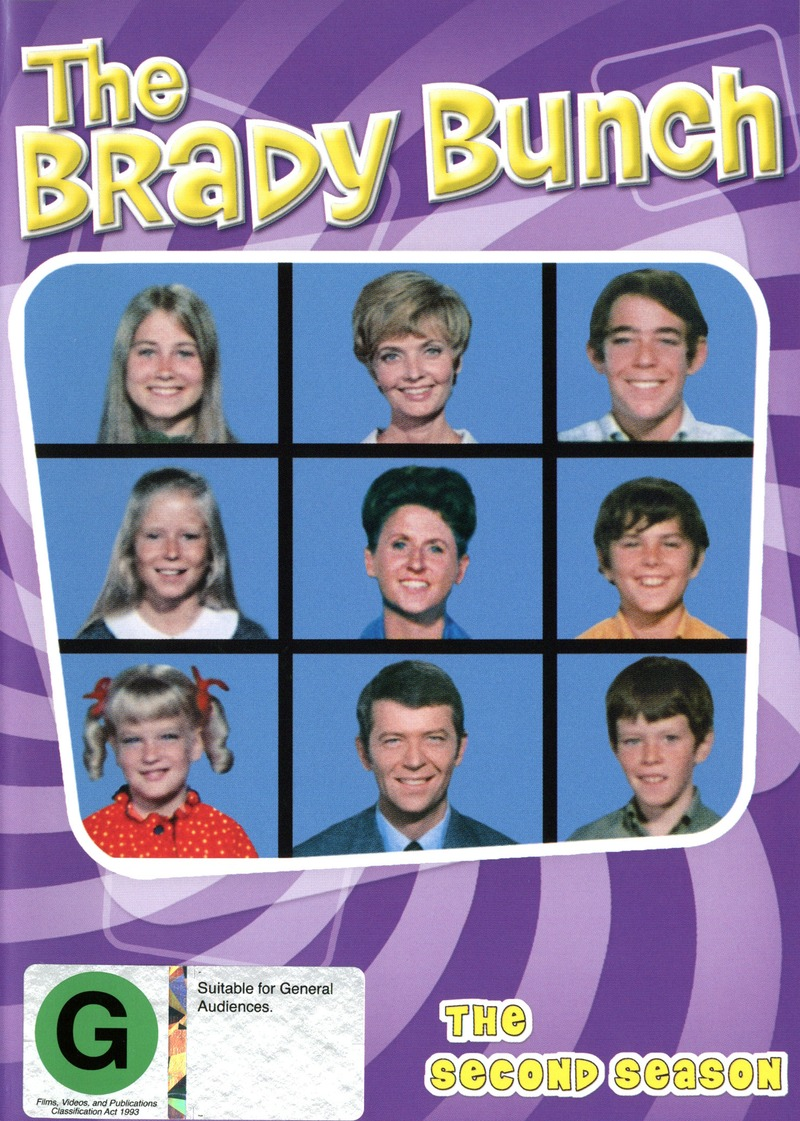 The Brady Bunch - The 2nd Season (4 Disc Set) on DVD image