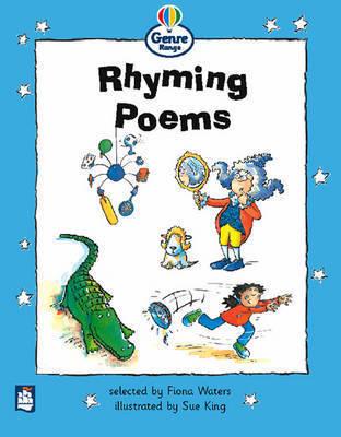 Rhyming Poems Genre Beginner Stage Poetry Book 3 by Fiona Waters