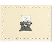 Typewriter Note Cards (14 Cards/Envelopes)