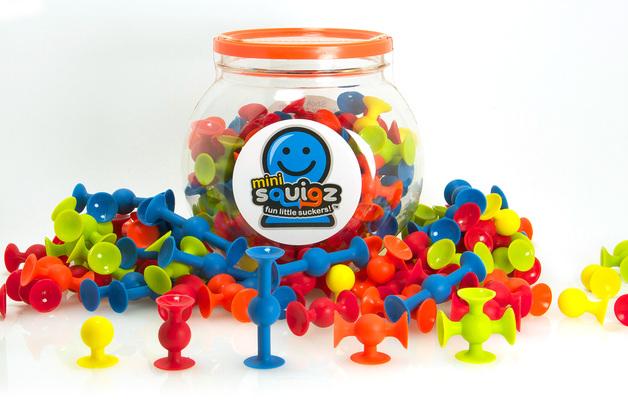 Fat Brain Toys: Squigz: Mini-squigz - (75pc) Set