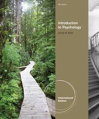 Introduction to Psychology by James W Kalat image