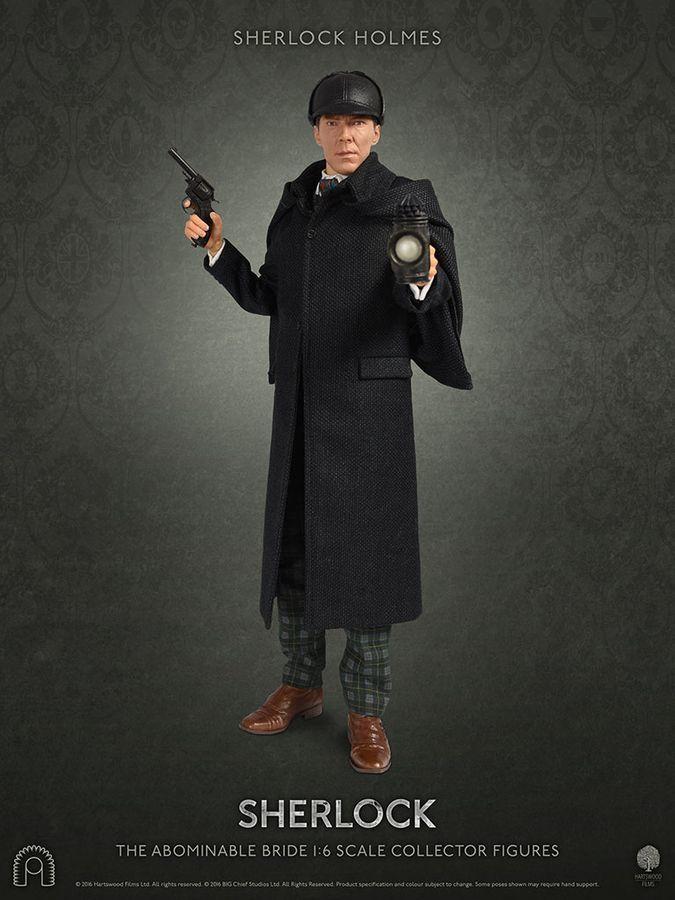 "Sherlock - 12"" Sherlock Holmes (The Abominable Bride) Articulated Figure image"