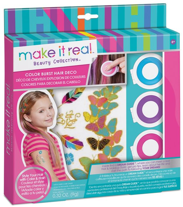 Make it Real - ColorBurst Hair Deco
