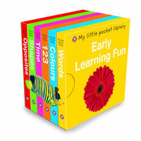 Early Learning Fun: My Little Pocket Library by Roger Priddy image
