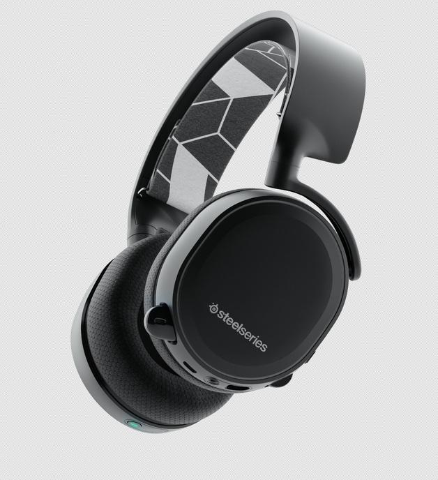 SteelSeries Arctis 3 Bluetooth Headset (Black) for PC