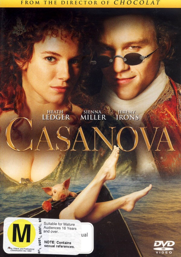 Casanova on DVD image