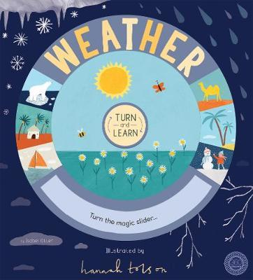 Turn and Learn: Weather by Isabel Otter image