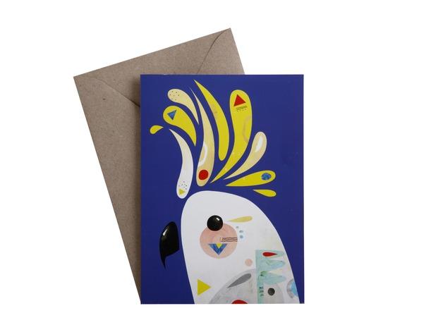 Pete Cromer: Greeting Card - Cockatoo